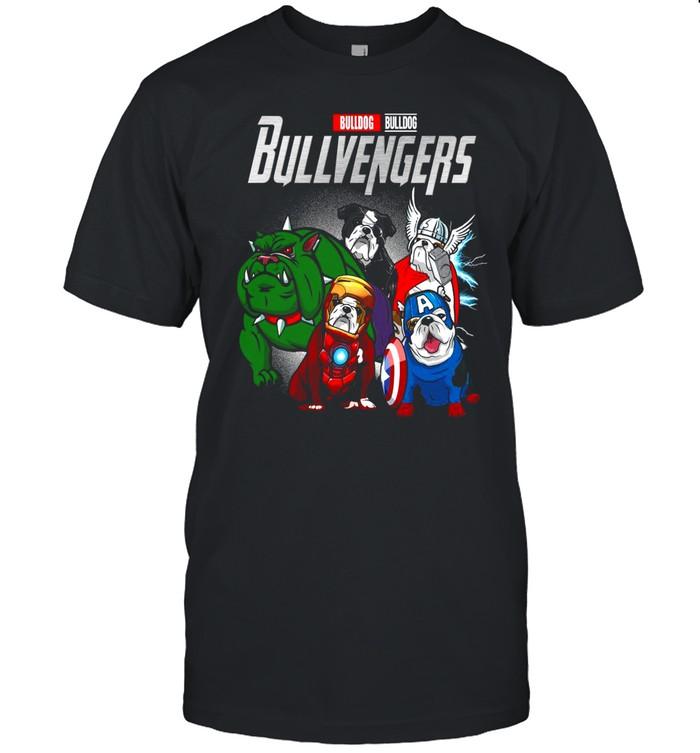 Marvel Avengers Bulldog Bullvengers shirt Classic Men's T-shirt