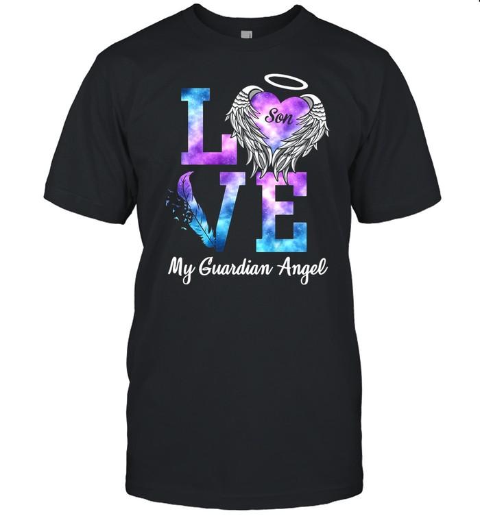 Love Son My Guadian Angel shirt Classic Men's T-shirt
