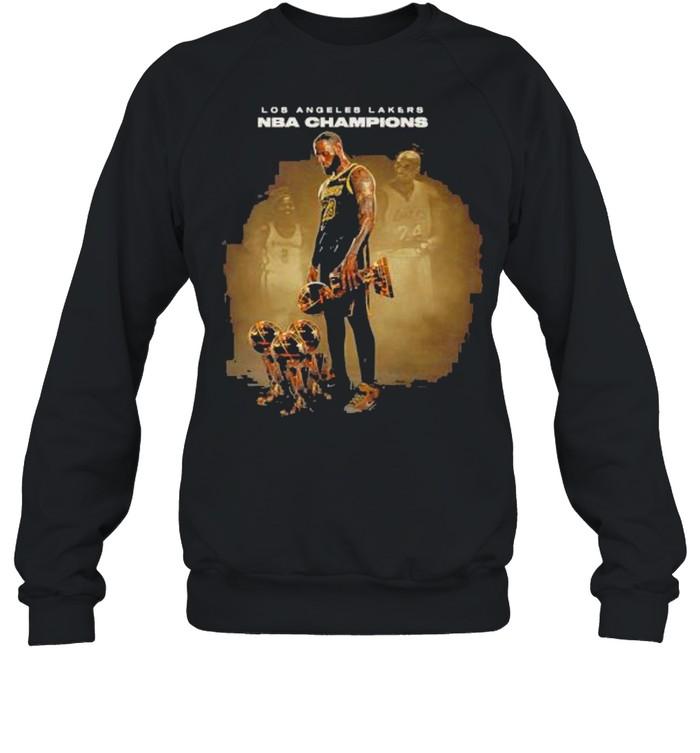 Kobe Bryant Los Angeles Lakers Nba Champions shirt Unisex Sweatshirt