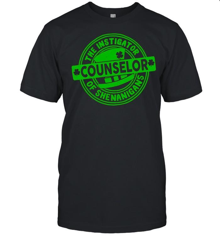 The Instigator Counselor Of Shenanigans shirt Classic Men's T-shirt