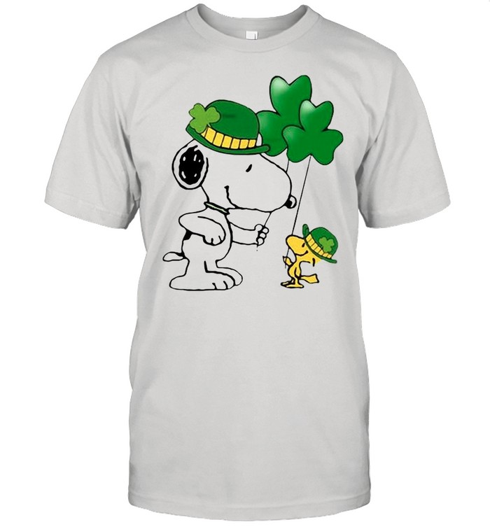 The Snoopy And Woodstock Happy St Patrick's Day 2021 shirt Classic Men's T-shirt
