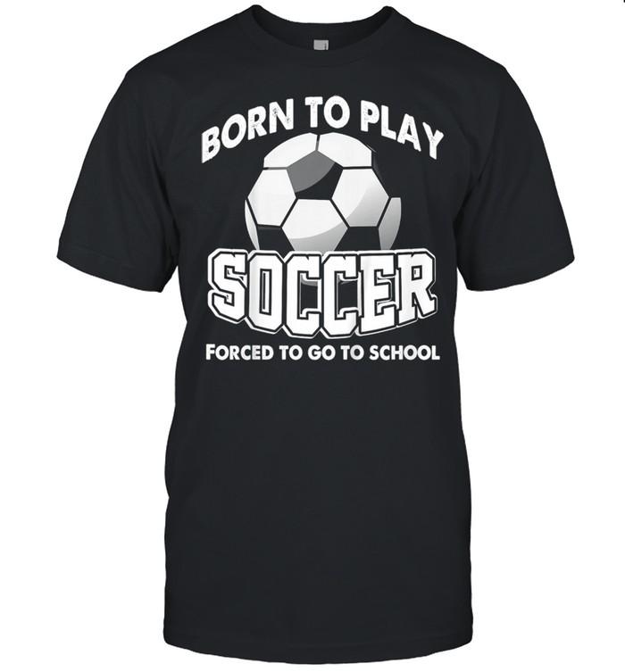 Kinder Soccer Joke Soccer Player Humor Boy Girl shirt Classic Men's T-shirt