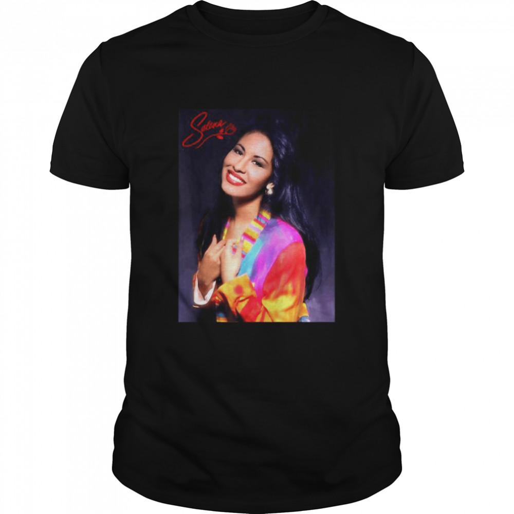 Selenas Quintanilla Music Signature  Classic Men's T-shirt
