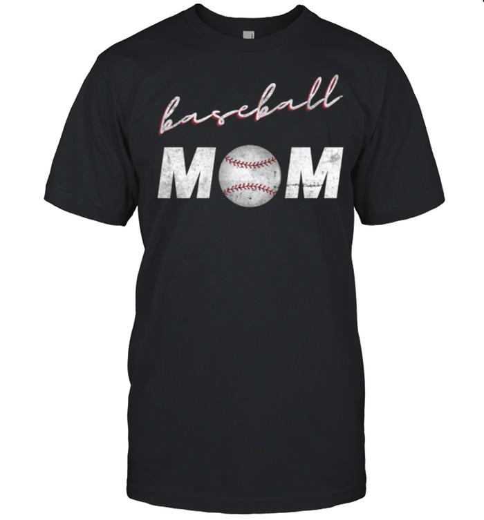 Baseball Mom Mothers Day Game Sports Proud Mama shirt Classic Men's T-shirt