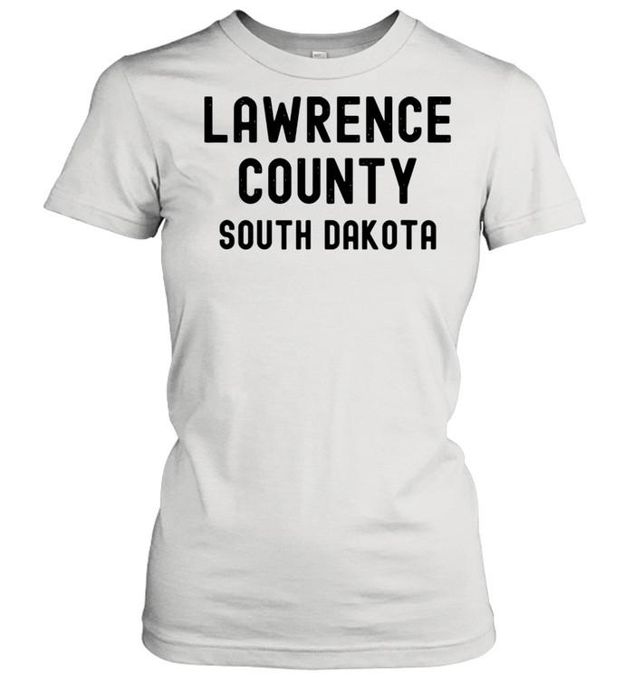 Lawrence County South Dakota shirt Classic Women's T-shirt