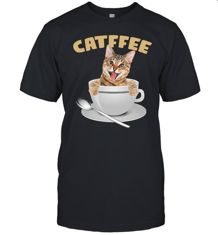 Catffee Coffee shirt Classic Men's T-shirt