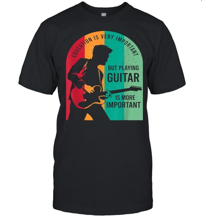Guitar Player Outfit For A Guitarist shirt Classic Men's T-shirt