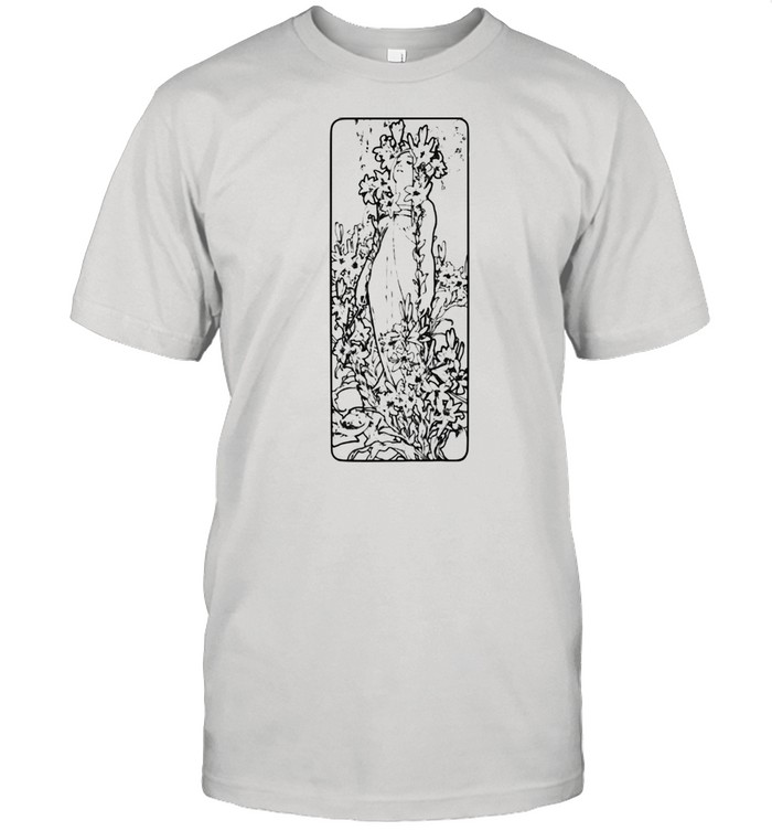 Art Deco Female Model 1920s  Classic Men's T-shirt