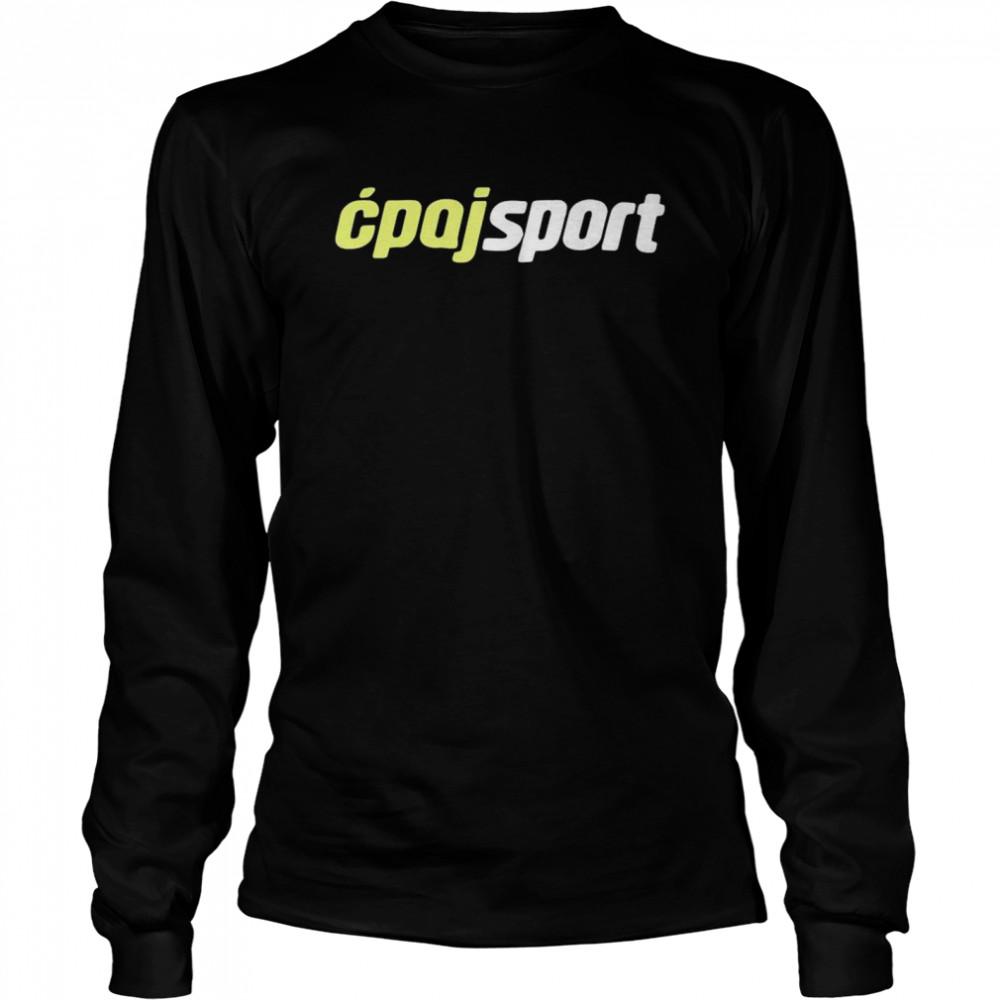 Cpajsport shirt Long Sleeved T-shirt