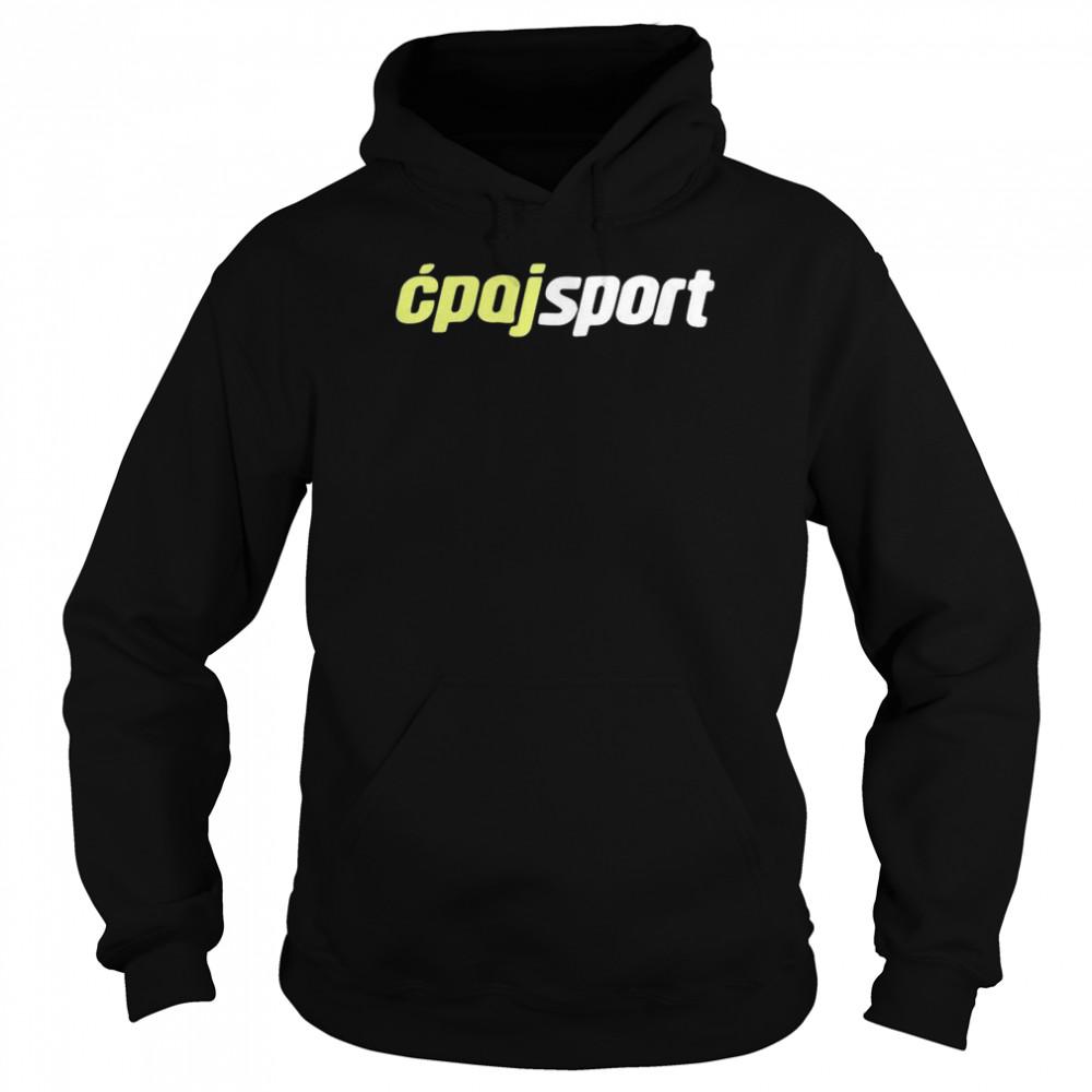 Cpajsport shirt Unisex Hoodie