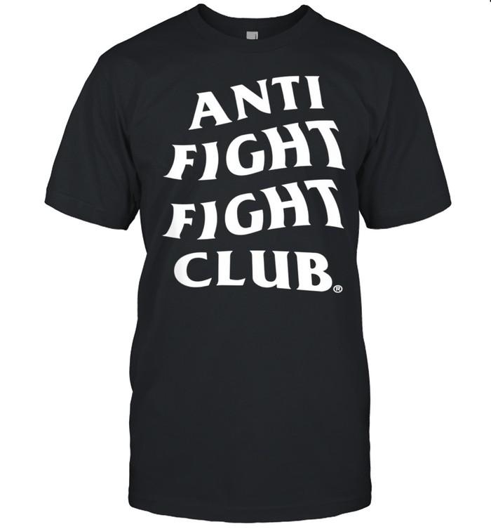 Anti Fight Fight  shirt Classic Men's T-shirt