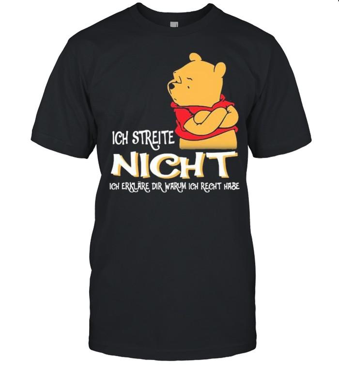 Ich Streite Night Dir Warum Ich Recht Hase Pool  Classic Men's T-shirt