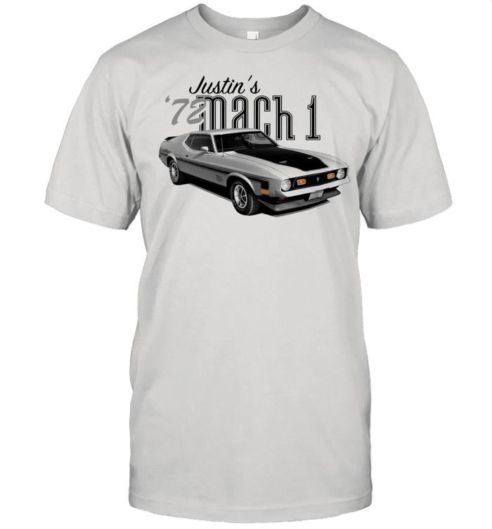 1972 Mustang Mach 1  Classic Men's T-shirt