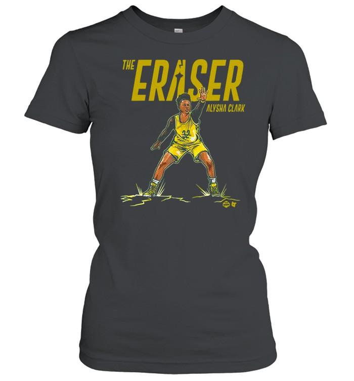 the eraser alysha clark shirt classic womens t shirt