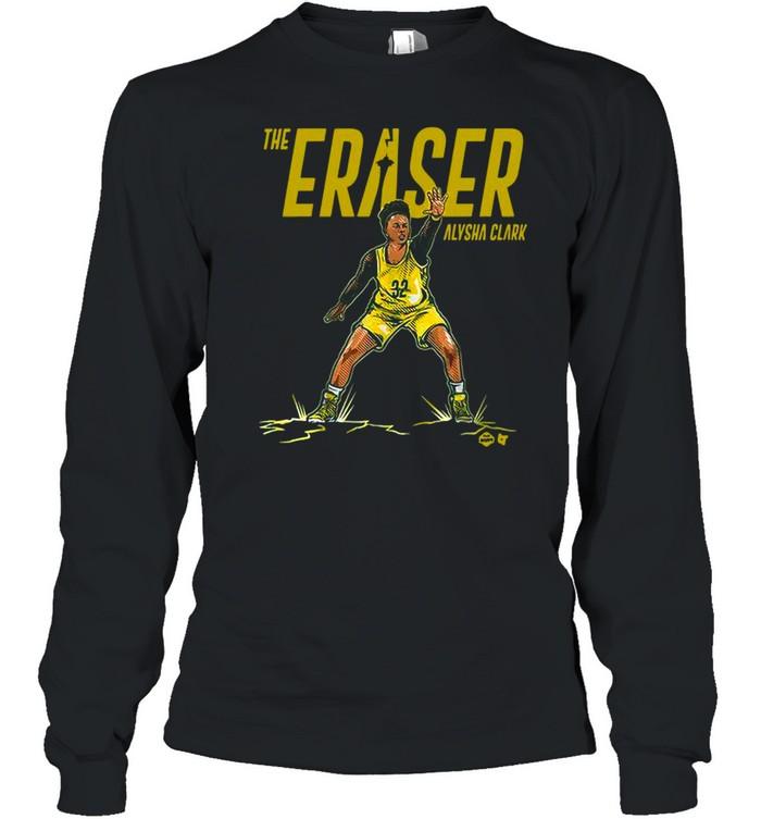 the eraser alysha clark shirt long sleeved t shirt