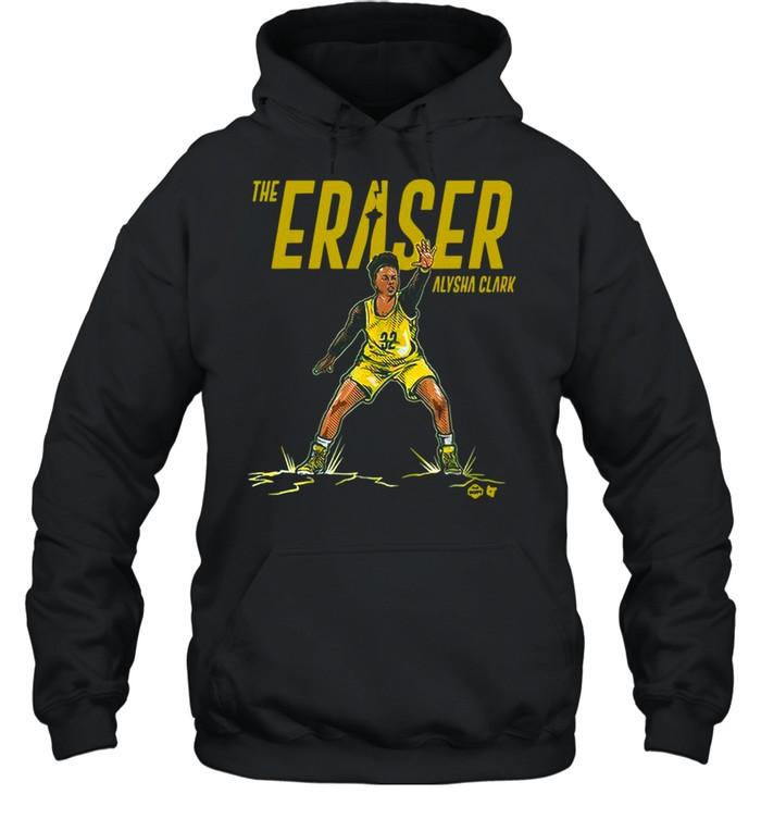 the eraser alysha clark shirt unisex hoodie