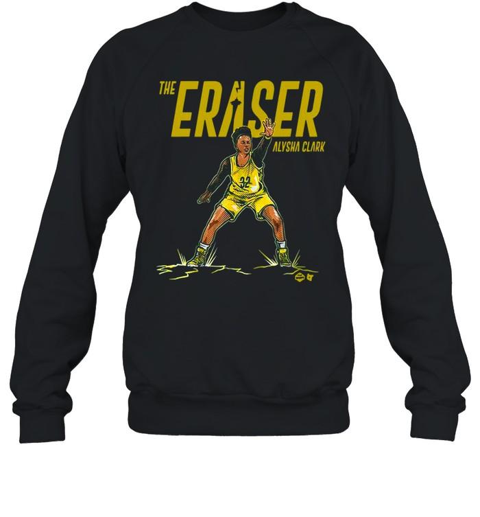 the eraser alysha clark shirt unisex sweatshirt
