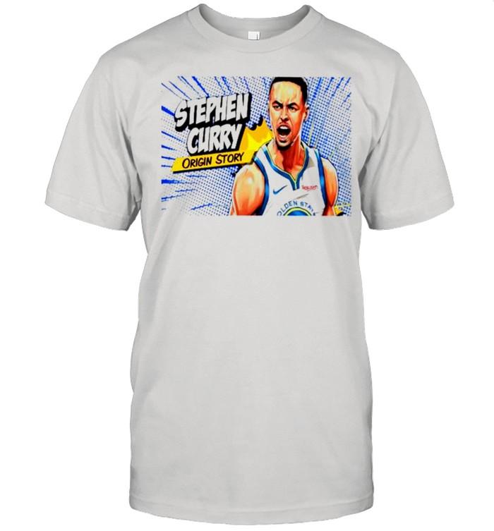 Stephen curry origin story shirt Classic Men's T-shirt