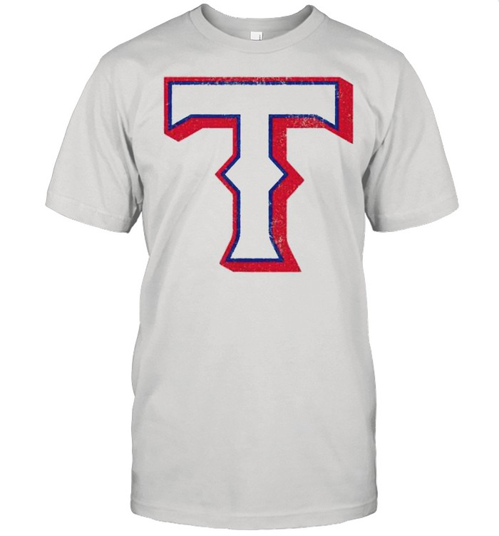 Vintage Texas Baseball T Distressed  Classic Men's T-shirt
