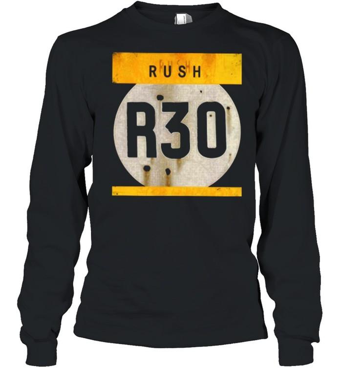 rush r30 shirt long sleeved t shirt