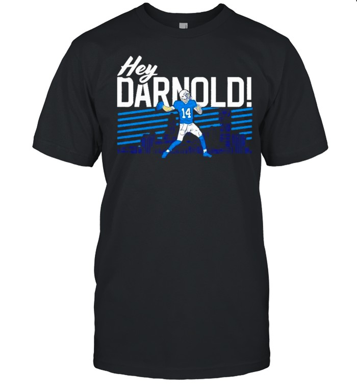 Sam Darnold Hey Darnold Carolina Panthers shirt Classic Men's T-shirt