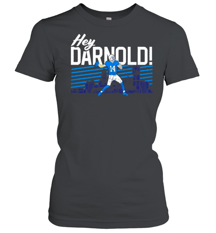 sam darnold hey darnold carolina panthers shirt classic womens t shirt