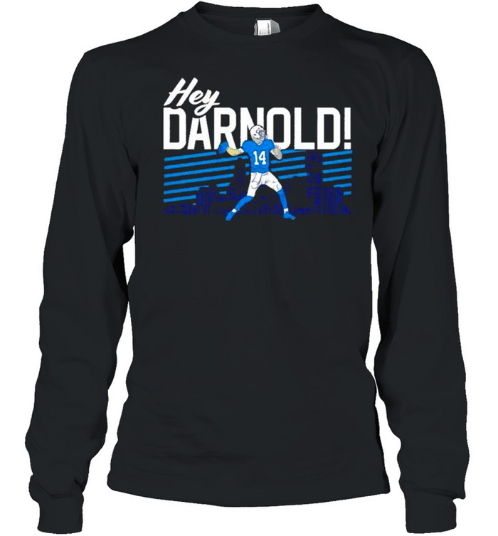 sam darnold hey darnold carolina panthers shirt long sleeved t shirt