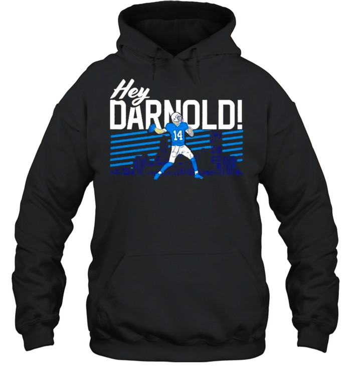 sam darnold hey darnold carolina panthers shirt unisex hoodie