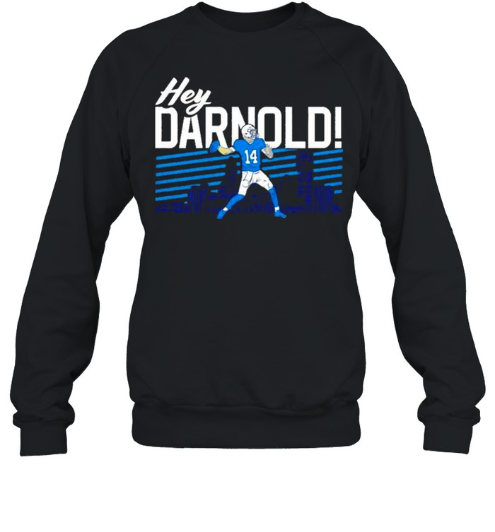 sam darnold hey darnold carolina panthers shirt unisex sweatshirt