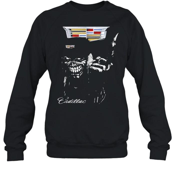 skull cadillac logo  unisex sweatshirt