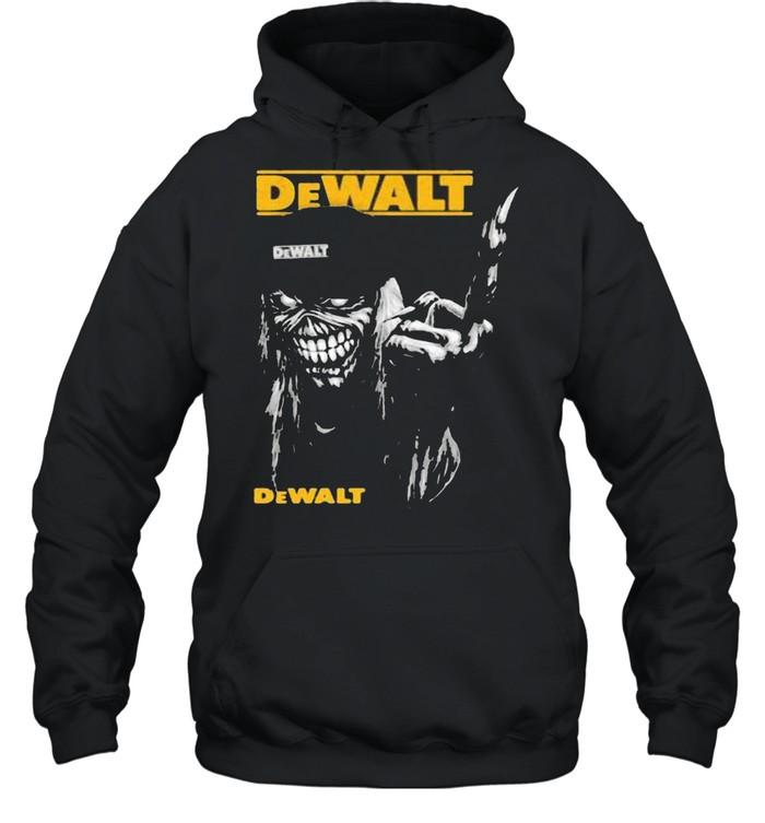 skull dewalt logo  unisex hoodie