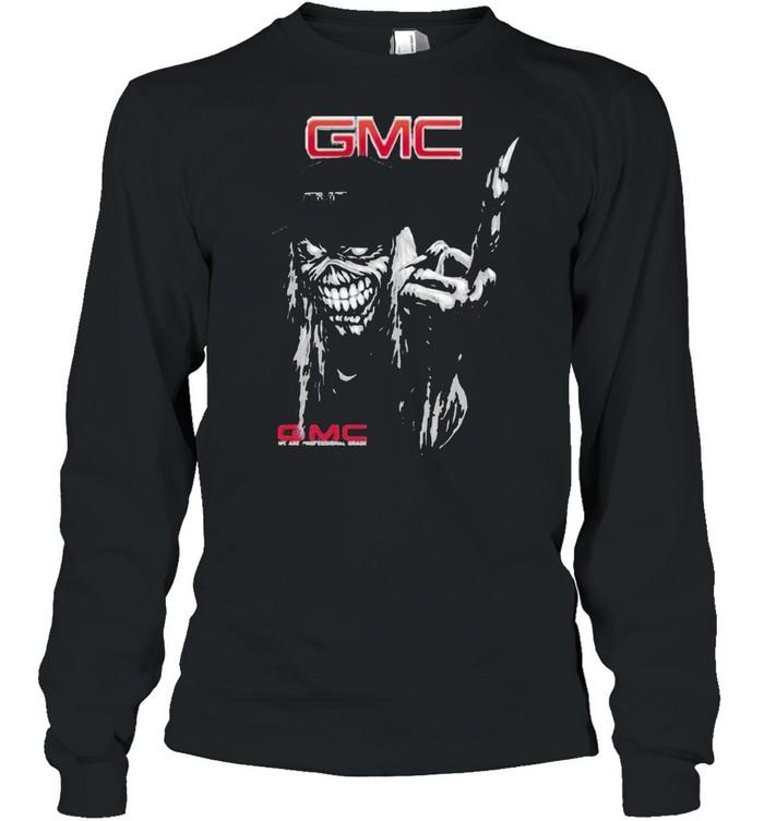 skull gmc logo  long sleeved t shirt
