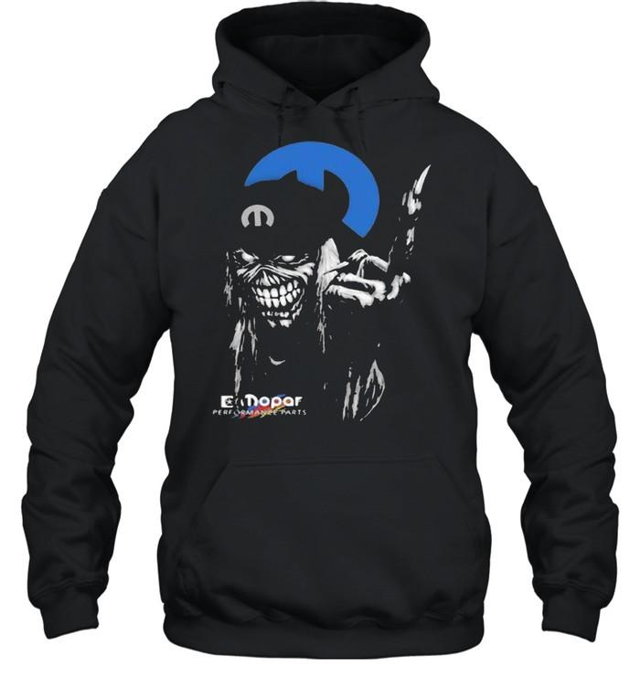 skull mopar performance cars logo  unisex hoodie