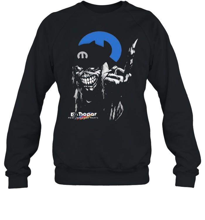 skull mopar performance cars logo  unisex sweatshirt