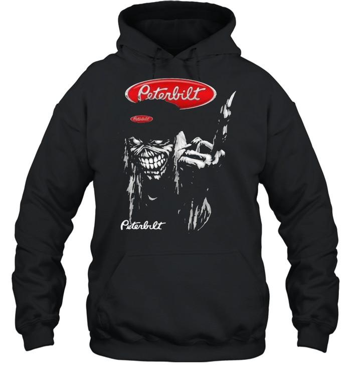 skull peterbilt logo  unisex hoodie