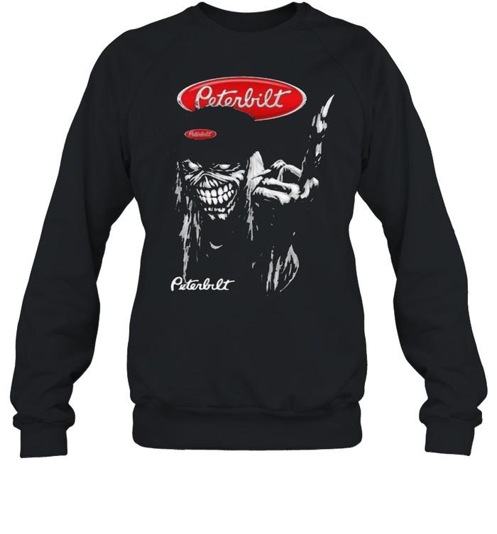 skull peterbilt logo  unisex sweatshirt