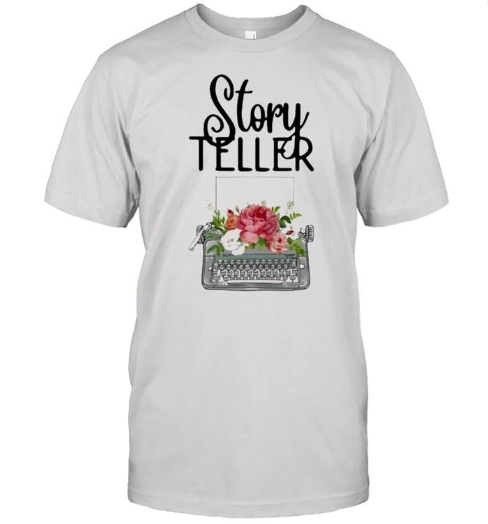 Story Teller Flower  Classic Men's T-shirt