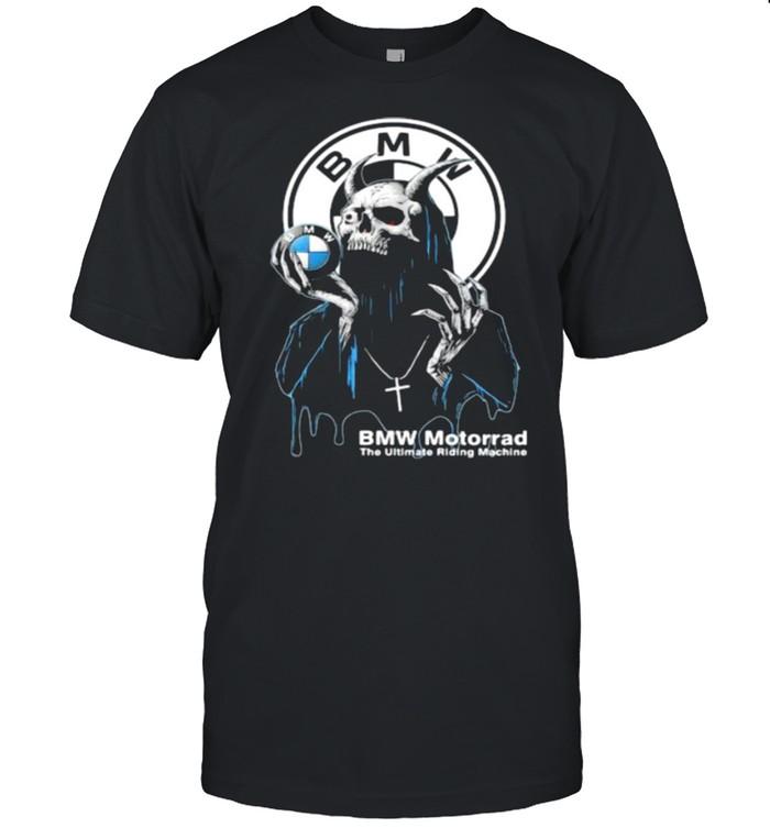 Skull Hold Bmw Motorrad The Ultimate Riding Machine  Classic Men's T-shirt