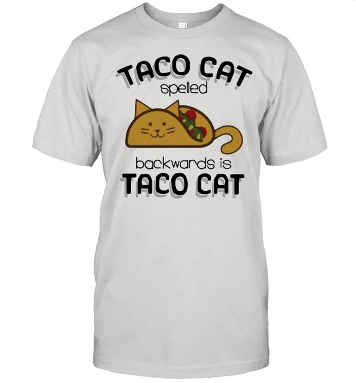 Taco Cat Spelled Backwards Is Taco Cat  Classic Men's T-shirt