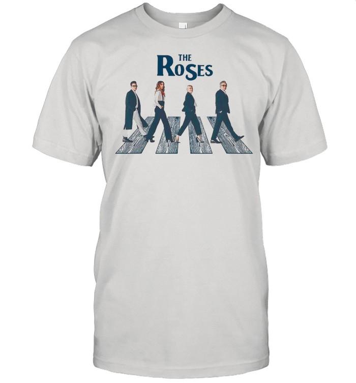 Schitt's Creek The Roses Abbey Road Walking shirt Classic Men's T-shirt