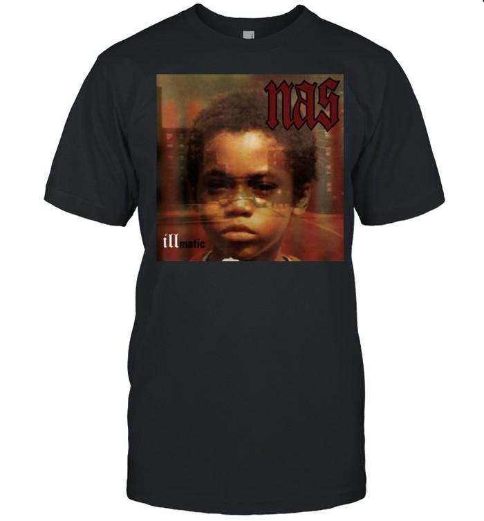 Nas -Illmatics Funny Albums  Classic Men's T-shirt