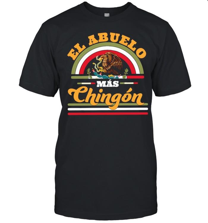 El Abuelo Mas Chingon Premium  Classic Men's T-shirt