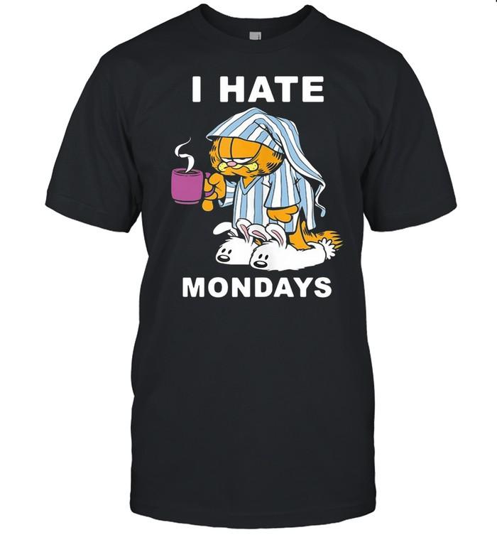 Garfield I Hate Mondays Coffee Garfield  Classic Men's T-shirt