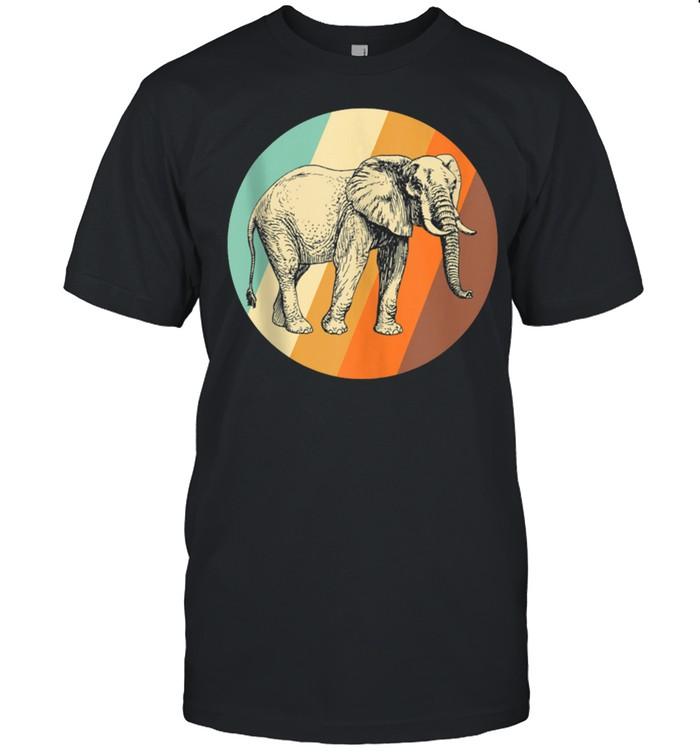 Elephant Vintage Retro Elephant shirt Classic Men's T-shirt