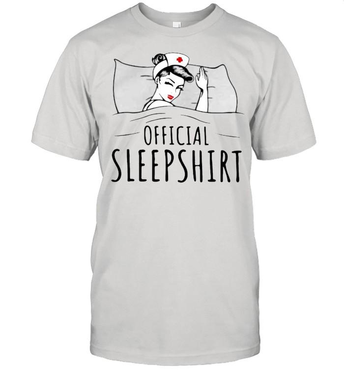 Official Sleepshirt Nurse  Classic Men's T-shirt