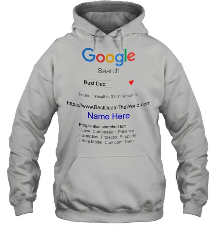 Dad – Google Search Best Dad shirt Unisex Hoodie