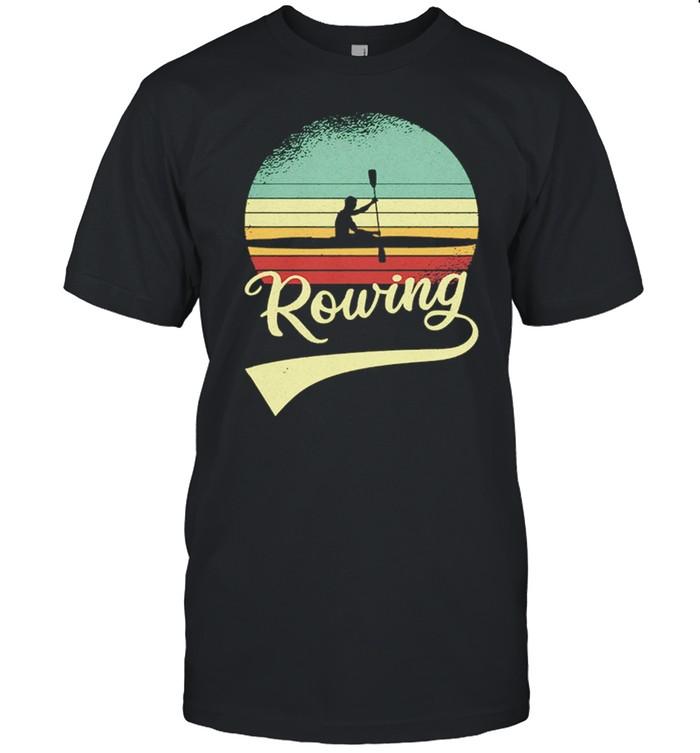 Rowing Vintage Retro shirt Classic Men's T-shirt