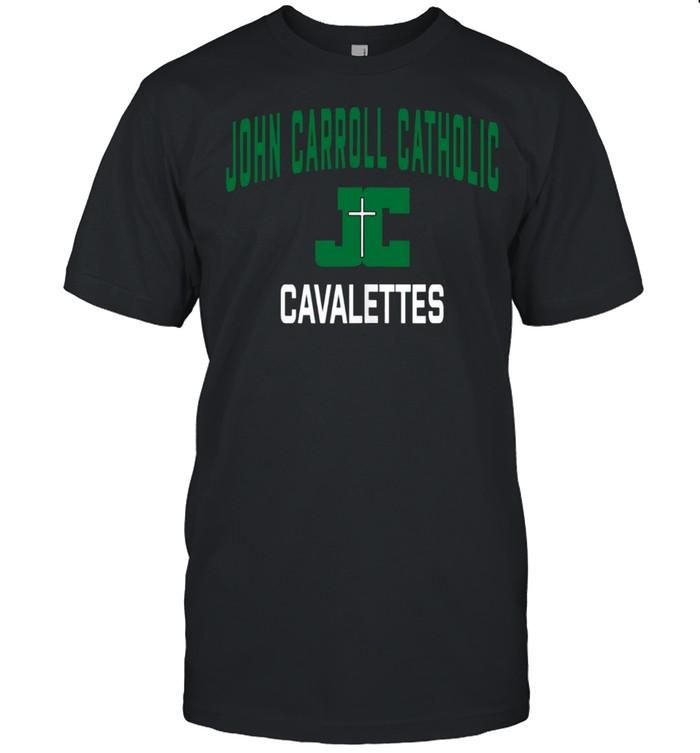 John Carroll Catholic High School Cavalettes shirt Classic Men's T-shirt