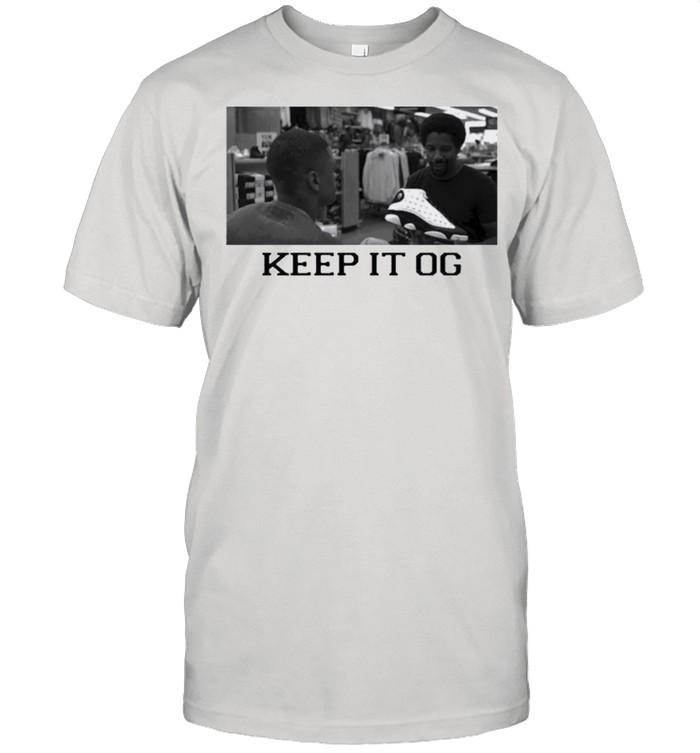 Keep it og black shirt Classic Men's T-shirt