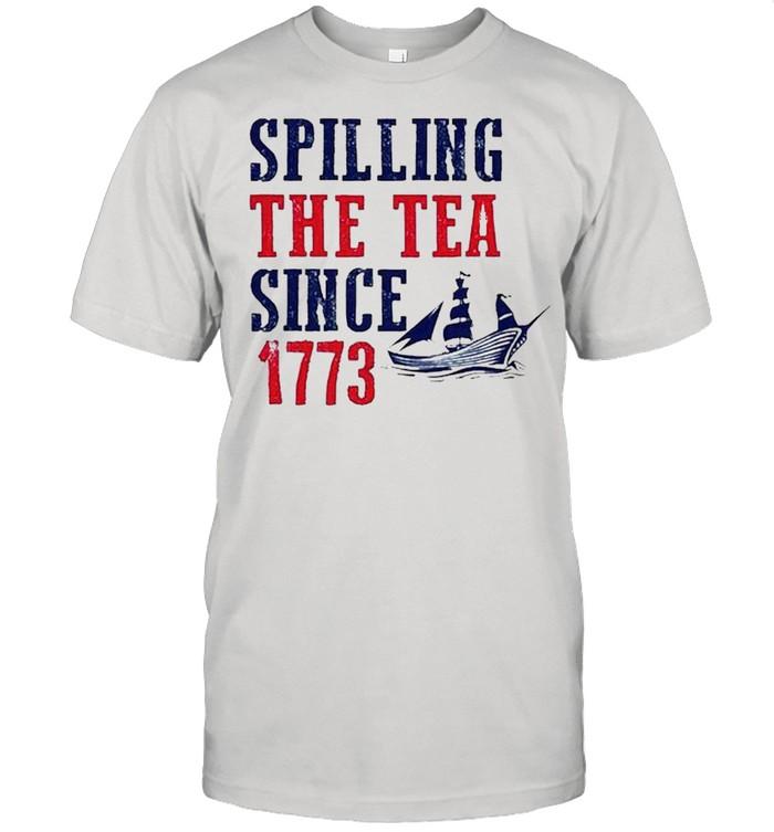 Spilling the test since 1773 shirt Classic Men's T-shirt